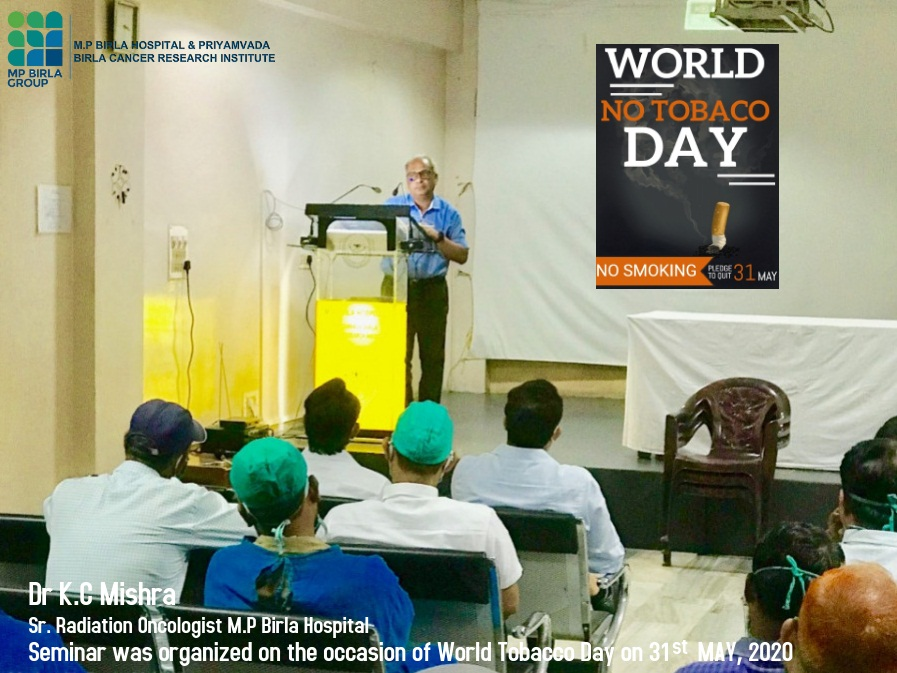 Seminar on World Tobacco Day on 31st of MAY 2020